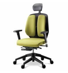 Кресло DUOREST Alpha A50H для руководителя, ортопедическое, цвет зеленый