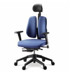 Кресло DUOREST Alpha A30H для руководителя, ортопедическое, цвет синий