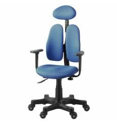 Кресло DUOREST Lady DR-7900 для персонала, ортопедическое, цвет голубой