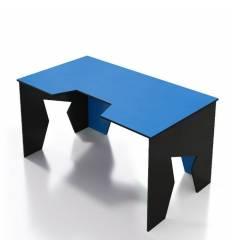 Стол Generic Comfort GAMER/NB/N компьютерный, цвет черный/синий