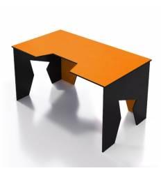 Стол Generic Comfort GAMER/NO/N компьютерный, цвет черный/оранжевый