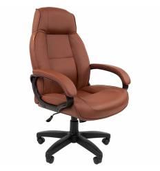 Кресло CHAIRMAN 436LT/BROWN для руководителя, цвет коричневый