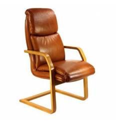 Кресло Стиль Дарв/О дерево для посетителя