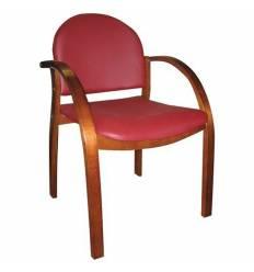 Кресло Стиль Джуна дерево для посетителя