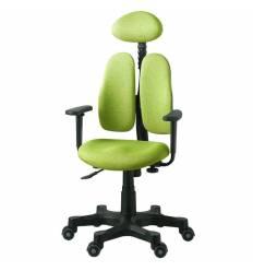 Кресло DUOREST Lady DR-7900 для персонала, ортопедическое, цвет салатовый
