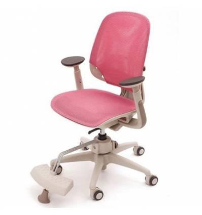 Кресло DUOREST DuoFlex Junior MESH детское, ортопедическое, цвет розовый
