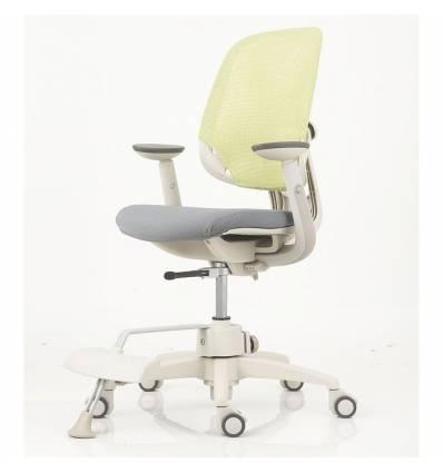 Кресло DUOREST DuoFlex Junior Combi детское, ортопедическое, цвет зеленый/серый