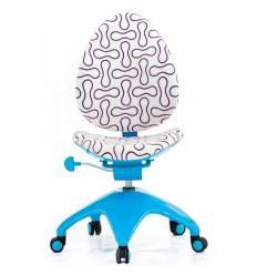 Кресло DUOREST Falto-kids Sponge AS-302 детское, эргономичное, цвет бело-голубой