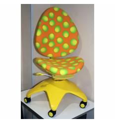 Кресло DUOREST Falto-kids Sponge AS-302 детское, эргономичное, цвет желтый/оранжевый