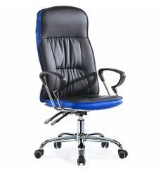 Кресло Smartbuy SB-A500 для руководителя, цвет черный/синий