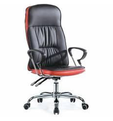 Кресло Smartbuy SB-A501 для руководителя, цвет черный/красный