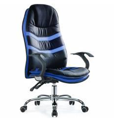 Кресло Smartbuy SB-A325 для руководителя, цвет черный/синий