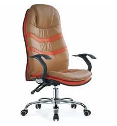 Кресло Smartbuy SB-A326 для руководителя, цвет бежевый/оранжевый