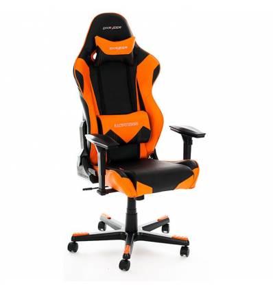 Кресло DXRacer OH/RF0/NO для руководителя, компьютерное, цвет черный/оранжевый