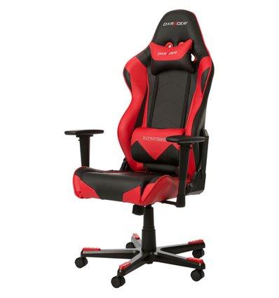 Кресло DXRacer OH/RF0/NR для руководителя, компьютерное, цвет черный/красный