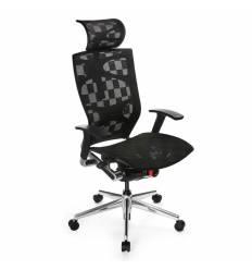 Кресло Бюрократ 811/BLACK для руководителя, ткань черная