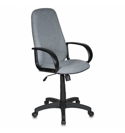 Кресло Бюрократ CH-808AXSN/GREY для руководителя, серый 10-128