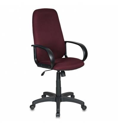 Кресло Бюрократ CH-808AXSN/TW-13N для руководителя, темно-бордовый