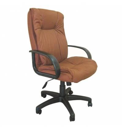 Кресло Бюрократ CH-838AXSN/F5 для руководителя, коричневый