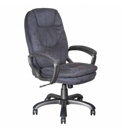 Кресло Бюрократ CH-868AXSN/MF110 для руководителя, цвет темно-серый. Пластик темно-серый.
