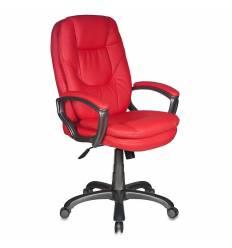 Кресло Бюрократ CH-868AXSN/RED для руководителя, цвет красный. Пластик темно-серый.