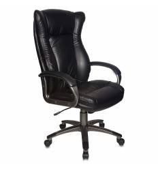 Кресло Бюрократ CH-879DG/BLACK для руководителя, цвет черный