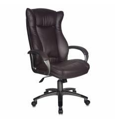Кресло Бюрократ CH-879DG/COFFEE для руководителя, цвет темно-коричневый.