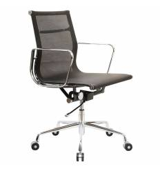 Кресло Бюрократ CH-996-Low/BLACK для руководителя, цвет черный