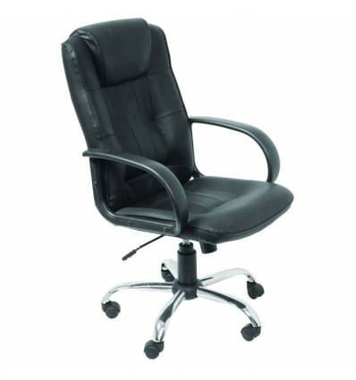 Кресло Бюрократ T-800AXSN для руководителя, цвет черный