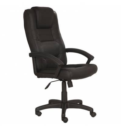 Кресло Бюрократ T-9906AXSN для руководителя, цвет черный