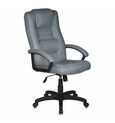 Кресло Бюрократ T-9906AXSN/F11 для руководителя, цвет серый