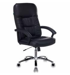 Кресло Бюрократ T-9908AXSN-AB для руководителя, цвет черный