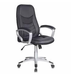 Кресло Бюрократ T-9910/BLACK для руководителя, цвет черный