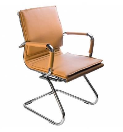 Кресло Бюрократ CH-993-LOW-V/CAMEL для посетителя, цвет светло-коричневый
