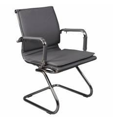Кресло Бюрократ CH-993-LOW-V/GREY для посетителя, цвет серый