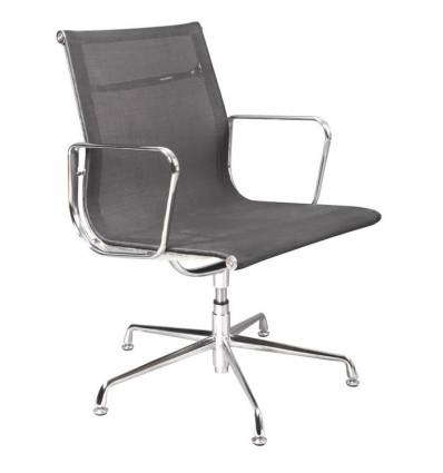 Кресло Бюрократ CH-996-LOW-L/BLACK для посетителя, цвет черный