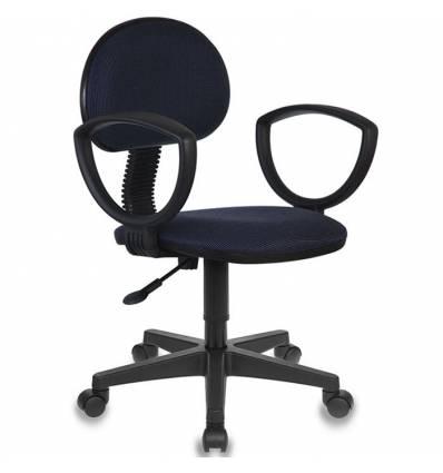 Кресло Бюрократ CH-213AXN/BL&BLUE для оператора, цвет черно-синий