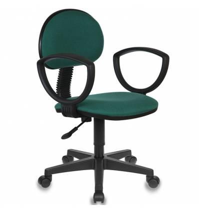 Кресло Бюрократ CH-213AXN/GREEN для оператора, цвет зеленый