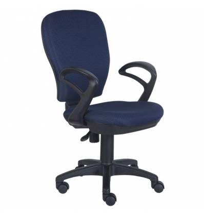Кресло Бюрократ CH-513AXN/BLUE для оператора, цвет темно-синий