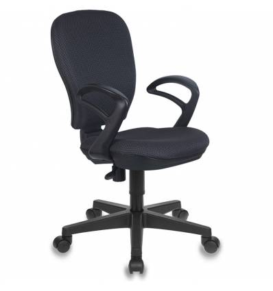 Кресло Бюрократ CH-513AXN/#GREY для оператора, цвет серый