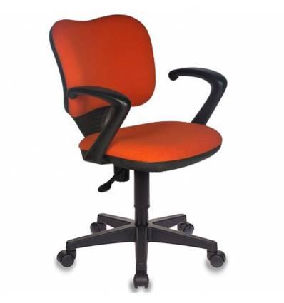 Кресло Бюрократ CH-540AXSN-LOW/26291 для оператора, цвет оранжевый