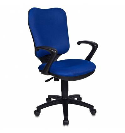 Кресло Бюрократ CH-540AXSN/TW-10 для оператора, цвет синий