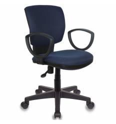 Кресло Бюрократ CH-626AXSN/V-03-1 для оператора, цвет черно-синий ромбик