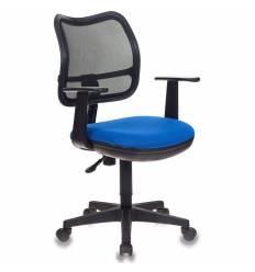 Кресло Бюрократ CH-797AXSN/26-21 для оператора, цвет черный/синий