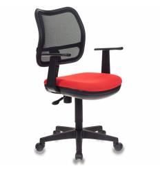 Кресло Бюрократ CH-797AXSN/26-22 для оператора, цвет черный/красный