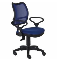 Кресло Бюрократ CH-799/BL/TW-10 для оператора, цвет синий