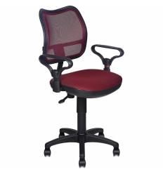 Кресло Бюрократ CH-799/CH/TW-13N для оператора, цвет темно-бордовый
