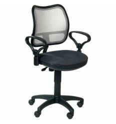 Кресло Бюрократ CH-799/LG/TW-12 для оператора, цвет серый