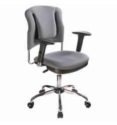 Кресло Бюрократ CH-H323ASXN/G для оператора, цвет серый