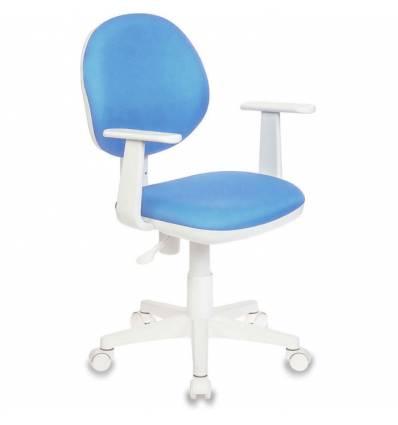 Кресло Бюрократ CH-W356ASXN/15-107 для оператора, цвет голубой
